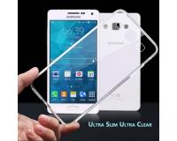 Силиконовый чехол для Samsung (Самсунг) A3 A300 (прозрачный)