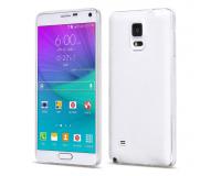 Силиконовый чехол для Samsung (Самсунг) Galaxy Note 4 N9100