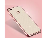 Розовый силиконовый чехол для Xiaomi Mi4S