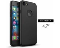 """Чехол 360 градусов защиты для iPhone 7 4.7"""" дюйма, черный"""