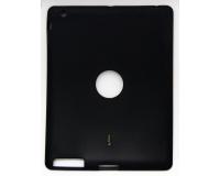 Силиконовый черный чехол для iPad 2 3 4 (9.7 дюймов)