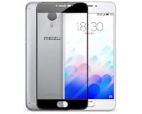 """Защитное стекло для Meizu M3 Note 5.5"""" дюймов цвет: Черный"""