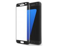 Защитное стекло на Samsung Galaxy S7 Edge Рамка: Черный