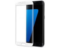 Защитное стекло на Samsung Galaxy S7 Edge Рамка: Серебро