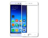 Защитное стекло с рамкой для Xiaomi 5S цвет: Белый