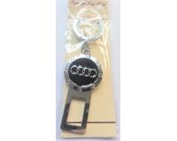 """Автомобильный брелок заглушка с логотипом """"Audi"""""""