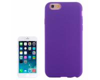 Силиконовый чехол для iPhone 6/6S, фиолетовый