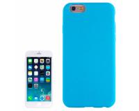 Силиконовый чехол для iPhone 6/6S, голубой