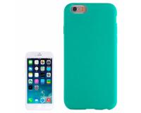 Силиконовый чехол для iPhone 6/6S, зеленый