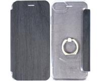 Чехол-книжка с кольцом Hoco 360° для iPhone 7, черный
