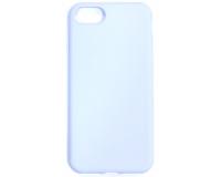 Силиконовый чехол для iPhone 7, голубой