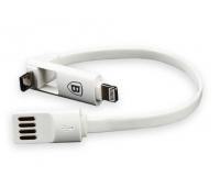 Кабель USB Baseus 24см  Dual-Port Series с разъёмом Lightning и micro USB