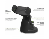 Держатель на торпеду Onetto Car Desk Mount Easy View 2 для iPhone, Samsung, Galaxy