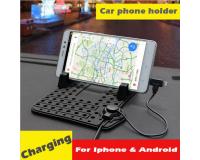 Flexible Pad Holder Гибкий коврик держатель для телефона + кабель для подзарядки
