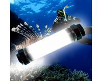 Водонепроницаемый фонарь Waterproof Q7+ Power Bank 5200 mAh