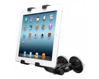 Универсальный автомобильный держатель для планшета на лобовое стекло, Capdase Tab-X Suction Duo Black.