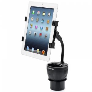 """Capdase Tab-X Car Cup Holder автомобильный держатель с зарядкой для планшетов от 7"""" до 11"""" дюймов"""