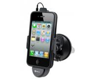 Dexim автомобильный держатель + зарядка для iPhone 4/4s