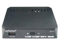 Цифровой телевизионный ресивер с функцией медиаплеера Eplutus DVB-127T