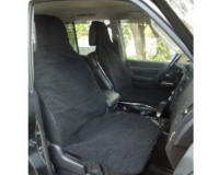 Glash A-100 Black Меховая накидка- чехол на сиденье автомобиля