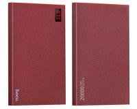 Внешний аккумулятор Hoco B17A Power Bank 20000 mAh, красный
