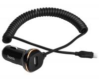 Hoco Z14 Автомобильное зарядное устройство + кабель micro USB