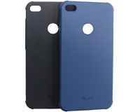 """Резиновый чехол для Huawei Honor 8 Lite 5.2"""" дюйма, черный/синий"""