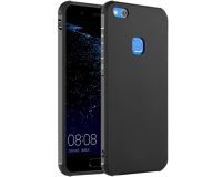 """Резиновый чехол для Huawei P10 Lite 5.2"""" дюйма, черный/синий"""