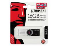 USB Flash Drive 16Gb - Флешка Kingston FlashDrive Data Traveler 101 G2 DT101G2/16GB