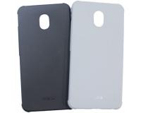 """Резиновый чехол для Meizu Note 5 5.5"""" дюйма, черный/серый"""