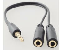 Aux audio cabel аудио кабель - разветвитель 3.5мм