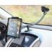 Длинный автомобильный держатель для планшетов и смартфонов на присоске.
