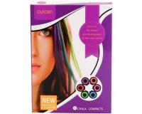 Цветные мелки для волос Cuican Infinite Charm, 6 цветов