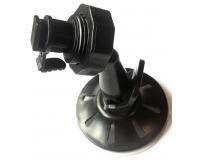 Крепление (дежатель) для видеорегистратора на присоске на защелке 50417