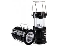 Фонарь Туристический с двумя видами освещения (94x94x195 мм)