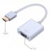 Переходник Конвертер HDMI (папа) - VGA (мама) + Audio-кабель (папа-папа)