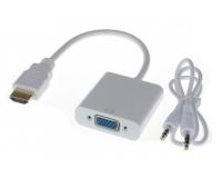 HDMI- VGA + Audio Переходник Конвертер