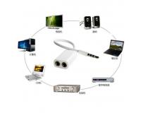 Aux аудио кабель - разветвитель 3.5мм