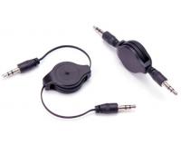 AUX 3.5 мм кабель на катушке длина 1.0м