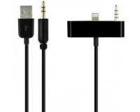 Адаптер Lightning-USB- AUX для iPhone 5 и выше