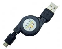 MicroUSB кабель на катушке длина 1.0м