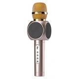 Magic Karaoke E103 Беспроводной караоке микрофон, золотой