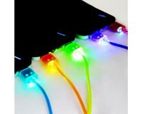 Светящийся Витой Шнур Led Lightning длиной 1.0м для iPhone 5-5s-6-6Plus-6S