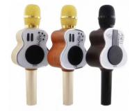 M9 Беспроводной караоке микрофон в форме гитары с колонкой