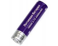 "Батарея аккумуляторная ""Поиск"" 18650 2400mAh 3.7V, 1 шт"