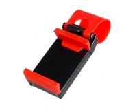"""Автомобильный Держатель для телефона на руль для телефона от 3.5"""" до 5"""" дюймов."""
