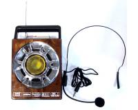 NNS NS-189U-M Громкоговоритель c FM-радио, mp3, фонарь