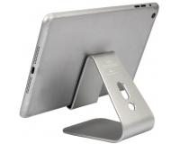 Настольная алюминиевая подставка для смартфона с липучкой
