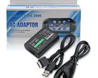 Зарядка для Sony PSP VITA, сетевое зарядное устройство