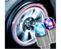 Светящиеся колпачки на ниппель колес 1 LED